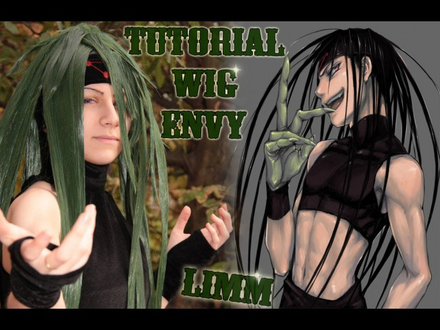  LIMM  tutorial wig Envy (Fullmetal Alchemist-homunculus)