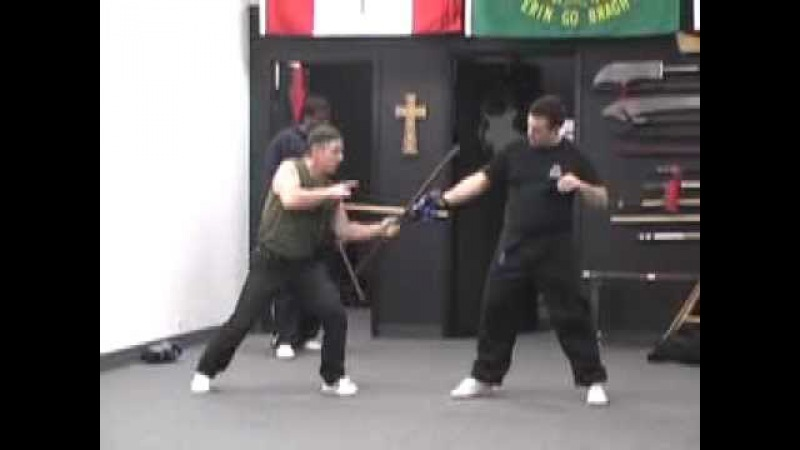 Doyle Irish Stick Fighting (Various Clips) Bataireacht Shillelagh