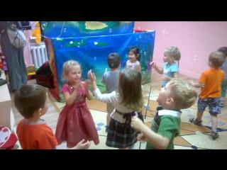 Танцы с мыльными пузырями (после спектакля