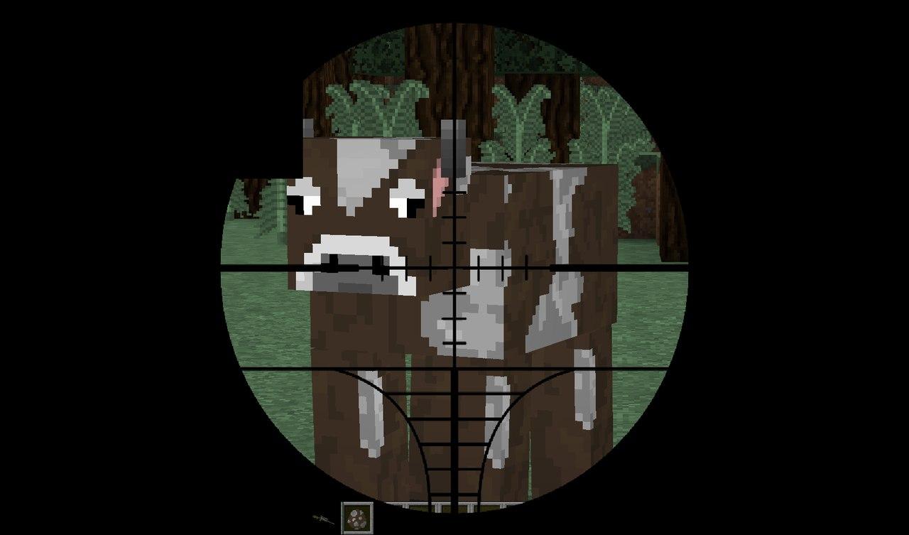 The Hunt Mod - почувствуй себя охотником! [1.7.10]