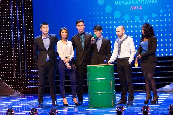 Текстовый онлайн третьей 1/8 Международной Лиги МС КВН 2015.
