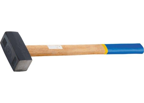 Кувалда, кованая головка, деревянная рукоятка   СИБРТЕХ