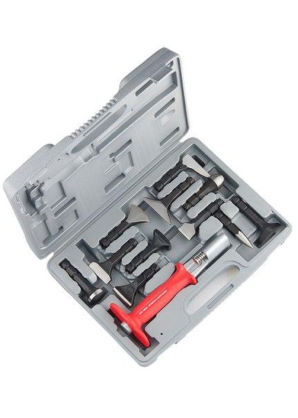 Набор рихтовочный, держатель, обрез. ручка, сменные бойки, 10 шт., в пласт. боксе   MATRIX