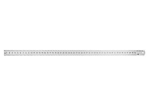 Линейка измерительная, металлическая   РОССИЯ