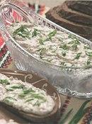 Фото рецепта: Кашка из селедки с луком