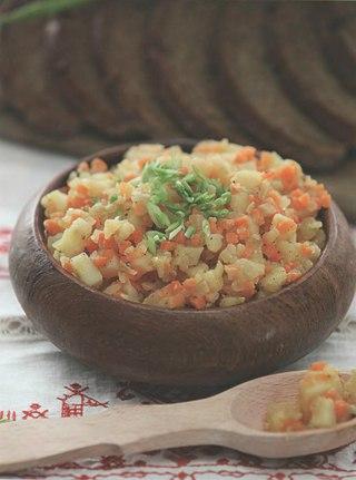 Фото рецепта: Кашка из овощей