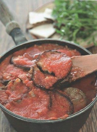 Фото рецепта: Меживо из баклажанов