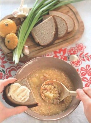 Фото рецепта: Казацкий кулеш с салом