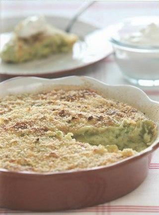 Фото рецепта: Запеканка из кабачков со сметаной