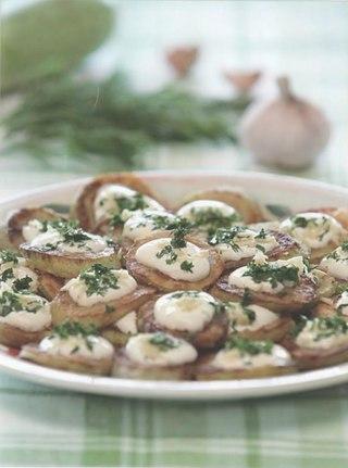 Фото рецепта: Жареные кабачки