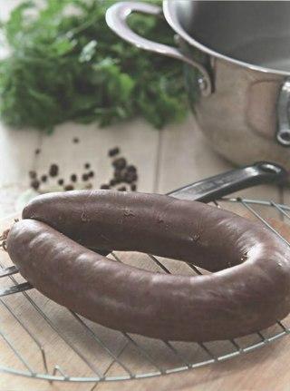 Фото рецепта: Кровяная колбаса