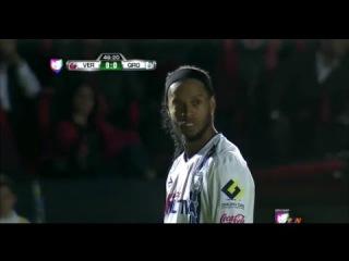 Mexicano commentator implores Ronaldinho to do something - Veracruz vs Queretaro 2015