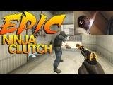CS:GO - The Most EPIC Ninja Clutch!