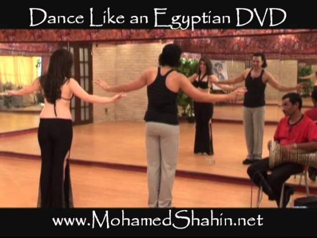 Dance Like an Egyptian instructional DVD by Mohamed Shahin