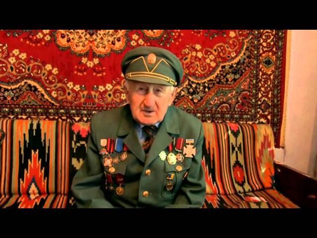 Ветеран УПА Теодор Дячун вітає січовиків із річницею батальйону