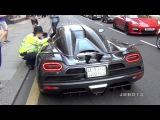 Police vs The Arab Supercars in London!