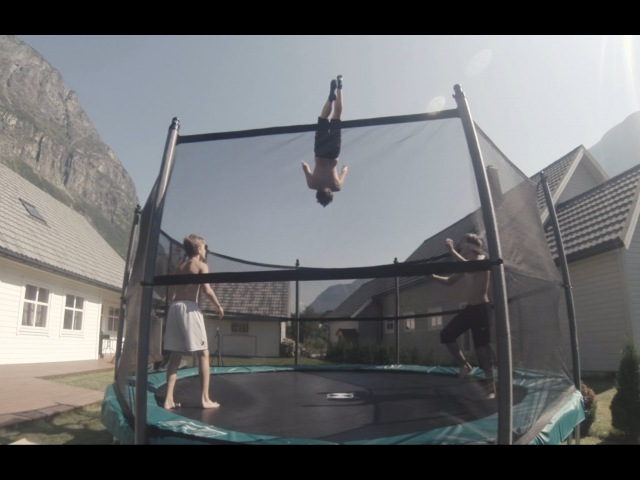 Summer Edit 2014 Trampoline Tricking | Triple landed, Double, Quad full, Double cody combos|