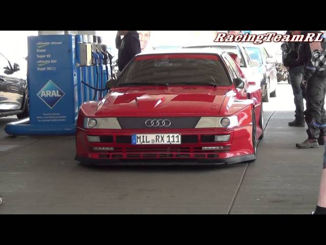 Audi S1 quattro Extreme on the Nürburgring Carfreitag 18.04.2014