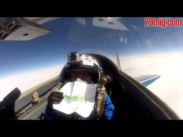 Flight to the edge of space on MiG-29 jet fighter in Russia. New video!