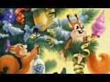 ♥♫ Елочка елка лесной аромат | Детские Новогодние песни из мультфильмов (с субтитрами)