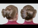 Бантик на Голове из Длинных Волос Видео Урок Онлайн на Канале «Прически Своими Руками»