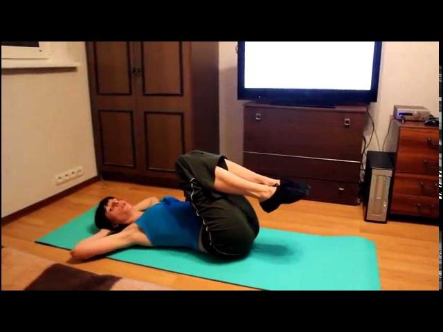 Упражнения на мышцы пресса