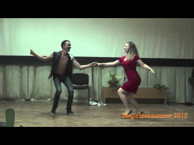 Андрей Лисниченко- Анна Гирнык (BoogieSpot-summer 2015) Кабаре