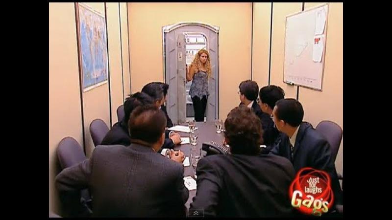 Toilet Boardroom Surprise Prank