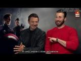 Интервью  актерского состава фильма  «Мстители: Эра Альтрона» для «moviemaniacsDE» (русские субтитры)