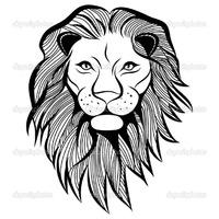 ескіз малюнка граціозна пантера