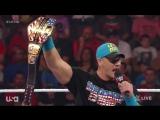 raw-11-05-2015 | Джон Сина против Невилла - матч за US титул.