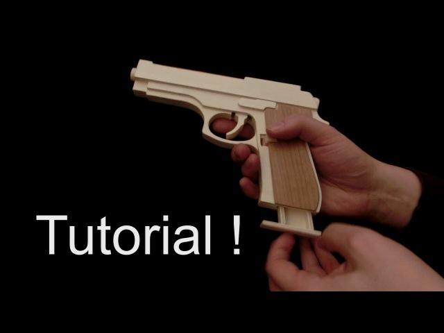Tutorial M9 rubber band gun