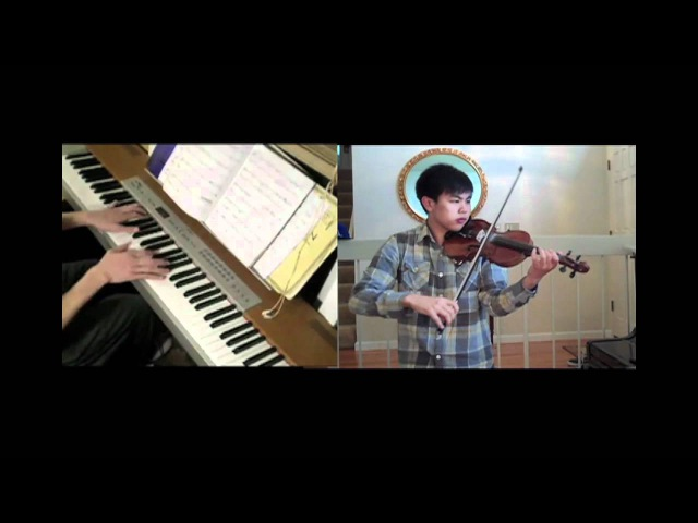Disney - The Lion King - Can You Feel The Love Tonight (violin, piano) FT. Josh Chiu