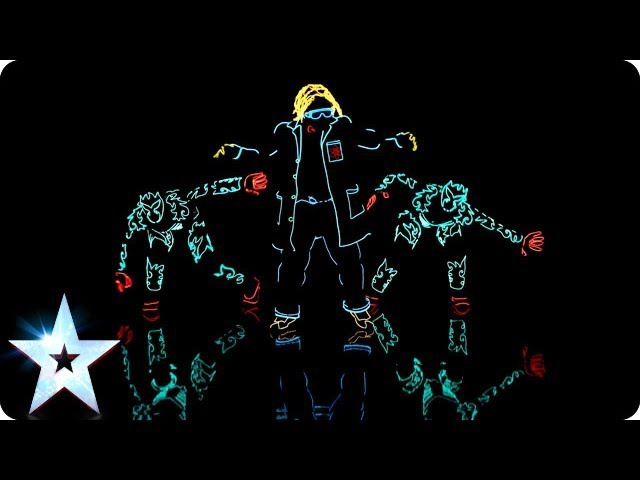 Light Balance are switched on   Britain's Got Talent 2014