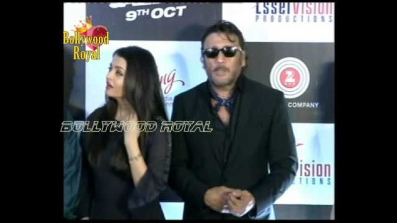 'Jazbaa' Aishwarya Bachchan Jackie Shroff at Song Launch 'Bandeyaa' by Jubin Nautiyal Part 3