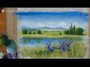 Открытый урок по правополушарному рисованию РИСУЕМ ЛЕТО 10апр2015