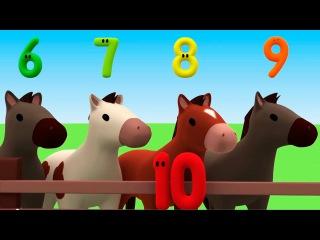 """Развивающий мультик """"Считаем с Полой"""" - цифры для детей. Учимся считать до 10. Пропавший кекс"""