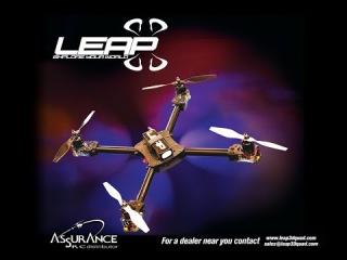 Alan Szabo Jr. Leap 3D Quad Test Flight 1