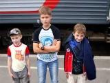 Детский вандализм на железной дороге_Children's vandalism, railway