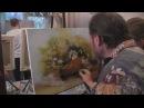 Видеоурок Сахарова Как научиться рисовать ромашки живопись для начинающих, уроки рисования