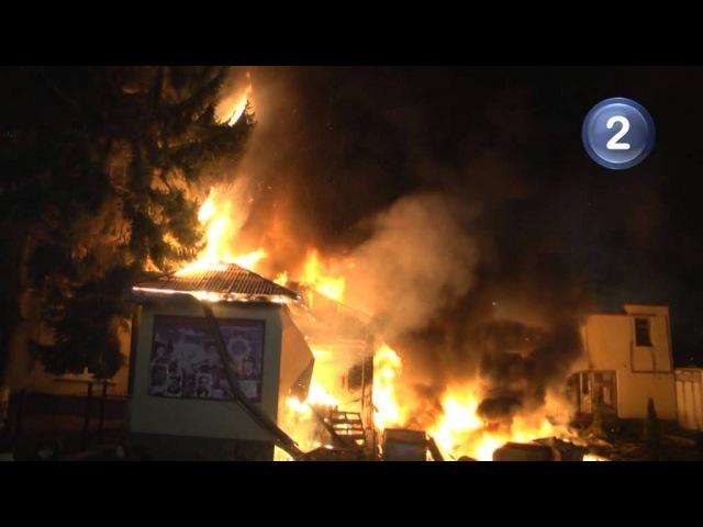 Захоплення військової частини у Львові 19.02.2014