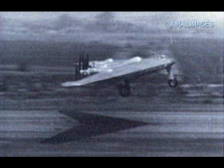 XB-35 Flying Wing and XB-36 Film Clips| History Porn