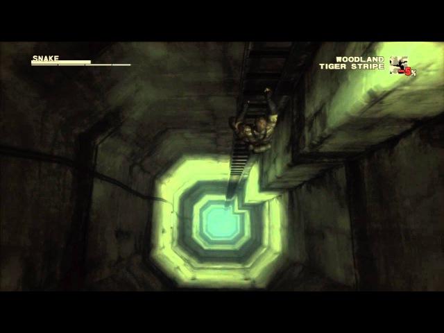 MGS3 Ladder Climb in HD
