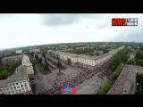 Парад победы глазами парашютиста / Parade of victory through the eyes of a skydiver