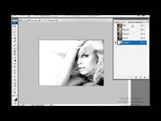 Уроки фотошоп. Создание рекламного постера из фотографии