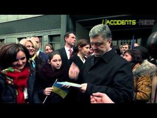 Порошенко встретился с украинской диаспорой в Дрездене