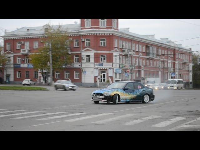 Barnaul. Autumn. Drift