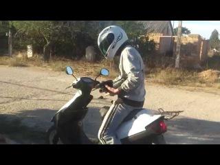 Чистим глушитель на Suzuki Ran 2ч.  кальян своими руками