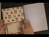 DIY Altering A Composition Notebook to Recipe Book Part 1 of 3