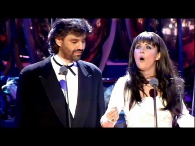 Sarah Brightman Andrea Bocelli - Time to Say Goodbye (1997) [720p]